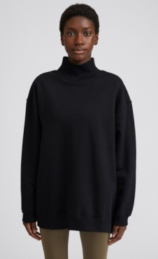 Filippa K Oversized Brushed Sweatshirt - Black