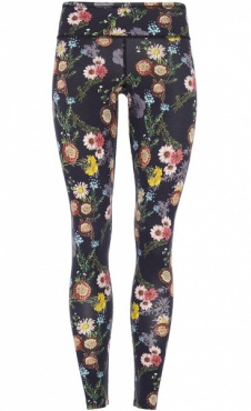Natural Printed Legging Millefleurs