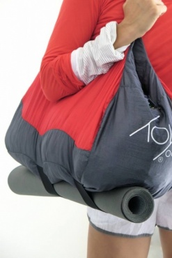 Yoga Mat Travel Bag - Red Grey