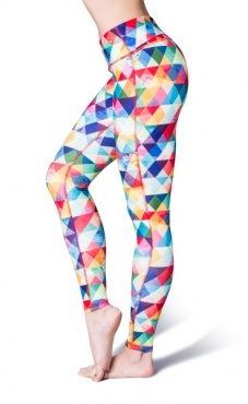 Light Printed Yoga Leggings