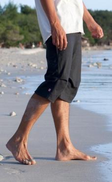 Freestyle yoga shorts - Slate