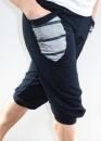 Sun yoga Pant - Navy Blue /Stripes - 3