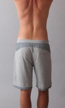 Active Yoga Shorts - Grey Marl