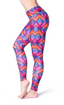 Heart Printed Yoga Leggings