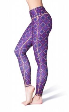 Notorious Printed Yoga Leggings
