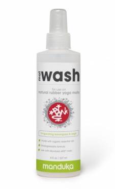Manduka Mat Wash Rubber Mats - Lemongrass