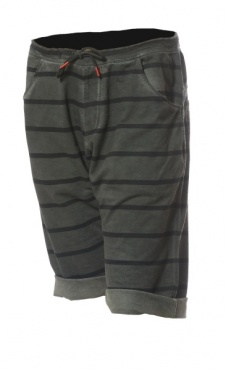 Asana Yoga Shorts - Smoke Stripes