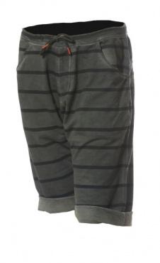 Asana Yoga Shorts - Smoke Stripes