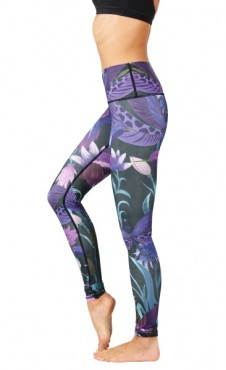 Yoga Leggings Dragonfly - Orchid