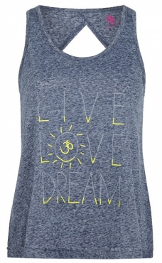 Live Love Dream Top - Scuba Grey