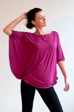 Luna Top - Fuchsia
